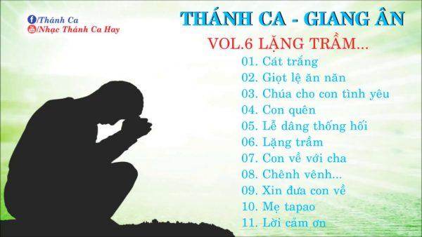 Album Lặng Thầm Thánh Ca Giang Ân Hay Nhất